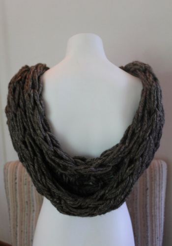 Knitting A Scarf How Many Stitches To Cast On : Marble Granite Cowl by Carrie Martin Project Knitting / Accessories Sca...