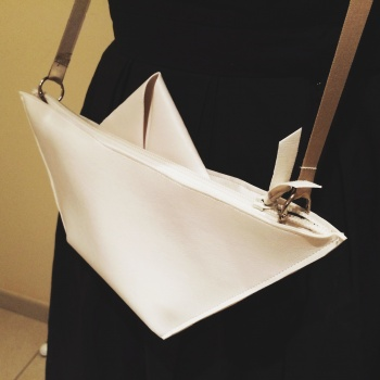 Paper Boat Purse By Tante Karlo
