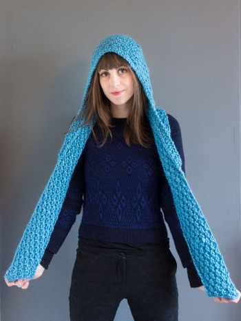 Vera Hooded Scarf Supply Patterns Kollabora