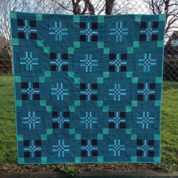 Welsh Blanket Quilt St David S Cross By Mary Emmens