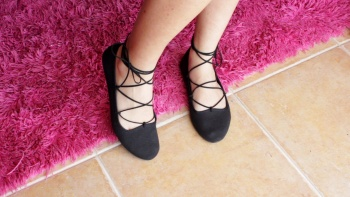 DIY Lace-up Flats by Curly Made | Project | Sewing / Shoes