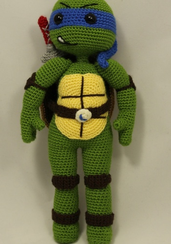 Teenage Mutant Ninja Turtles Are Awesome in Amigurumi! - FREE ... | 500x350