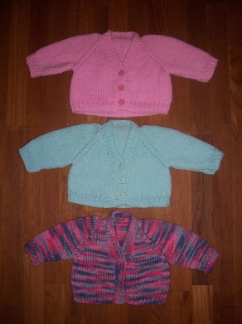 21b728a1d The Emily Cardigan (for premature underweight babies)